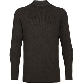 Icebreaker Hillock Tragthals sweater Herrer, grå